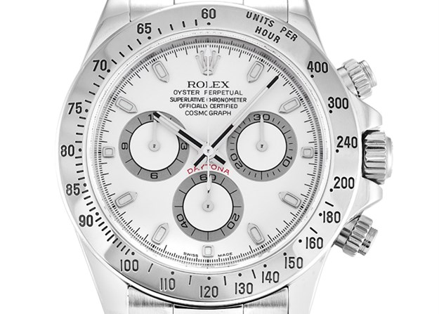 White Rolex Daytona Fake Watches