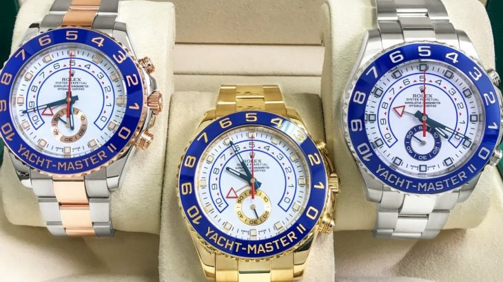 Rolex best replica watch Yacht-Master II collection