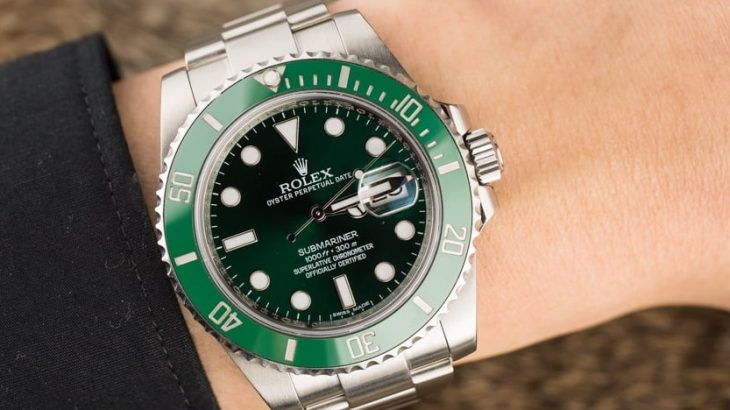 Rolex fake replica watch Submariner 116610 LV