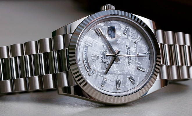 fake Rolex Day-Date 228239 white gold
