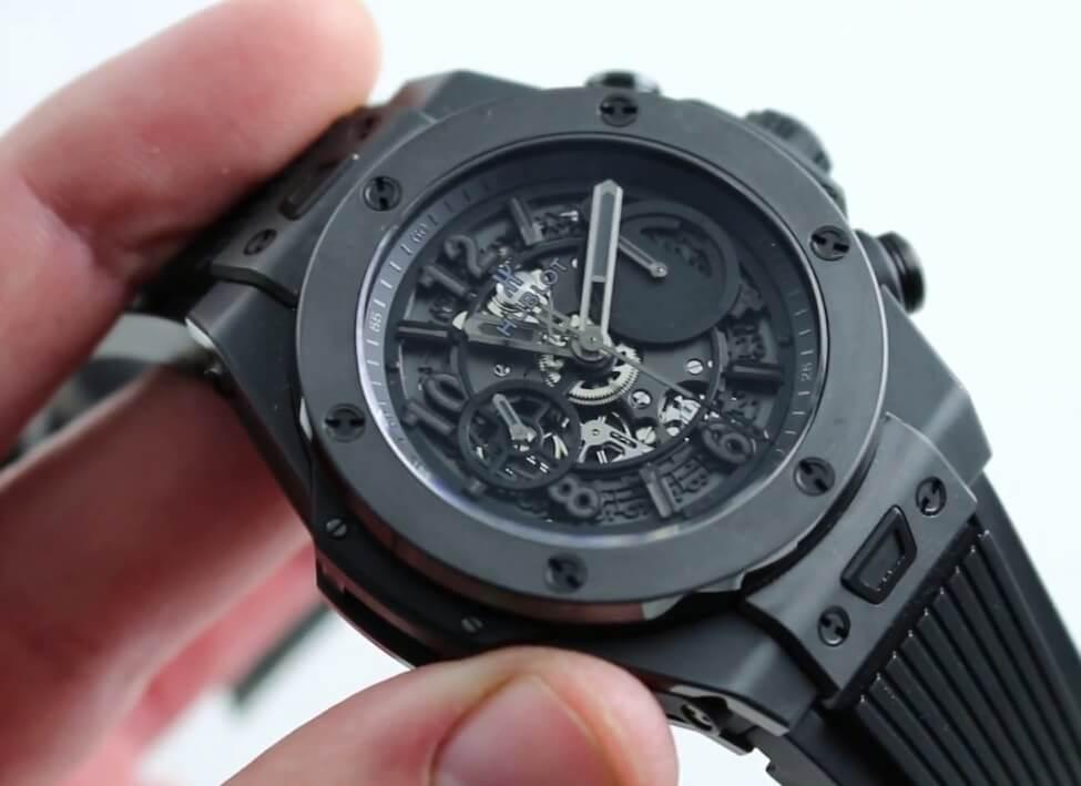Hublot All Black- Big Bang UNICO Chronograph Limited Edition Ref. 411.CI.1110.RX fake Watch
