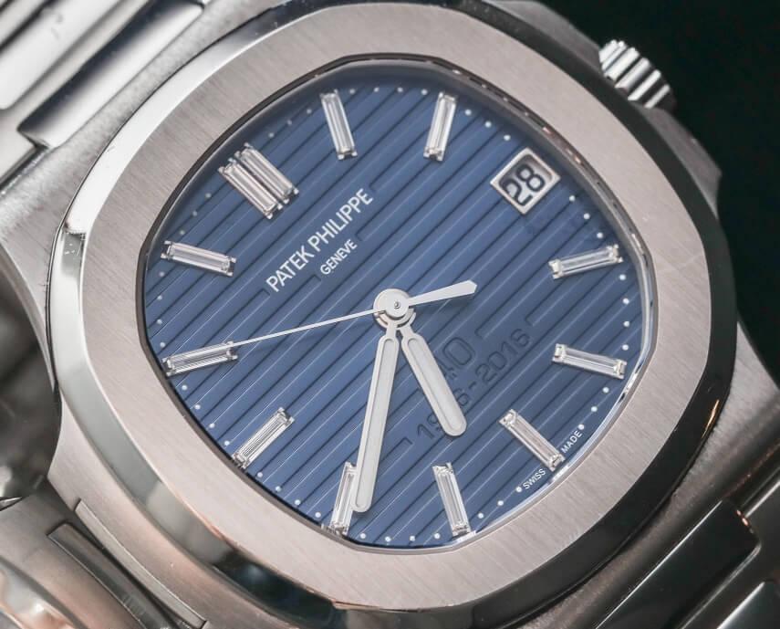 blue dial Of super clone Patek Philippe Nautilus 5711-1P