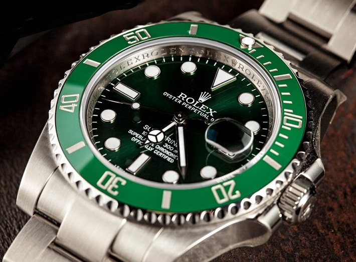 Rolex Submariner 116610LV buy fake luxury watches with green dial