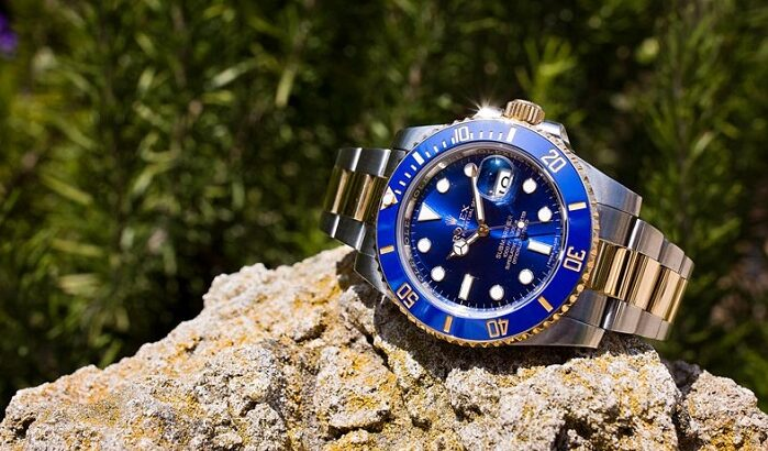 buy fake luxury watches Rolex Submariner 116613 blue dial